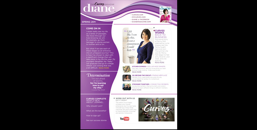 Curves Diane Newsletter